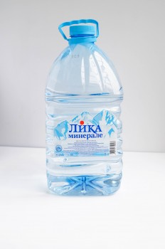 Цена 65руб Вода 5 литров «Лика Минерале»- минеральная природная питьевая столовая вода