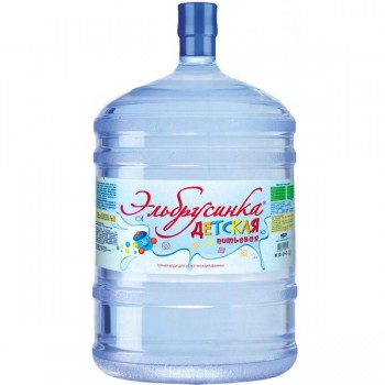 """340 руб.Вода мин. природ. питьевая столовая """"Эльбрусинка"""" питьевая 19л"""